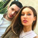 Roz Purcell in a collection of photographs with her sometimes social media-shy partner Zach Desmond