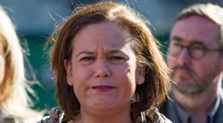 Sinn Fein president Mary Lou McDonald. Photo: Mark Condren