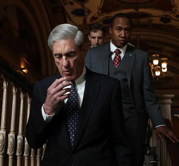 LONG ROAD: US special counsel Robert Mueller. Photo: Alex Wong/Getty Images