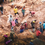 Digging through the mud after Cyclone Idai struck. Photo:AP Photo/Tsvangirayi Mukwazhi