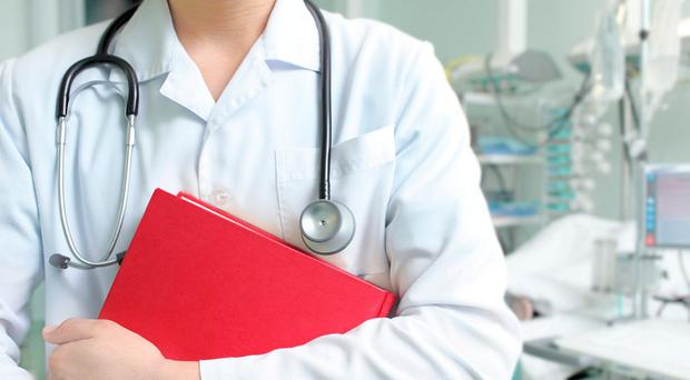 Hospital doctors are still not being paid for all the long hours they work - which contributes to the reason they are emigrating in growing numbers, a doctors' leader has said. (stock photo)