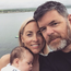 Kathryn Thomas, Padraig McLaughlin and their daughter Ellie. Photo: Instagram