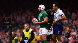 Rory Best of Ireland during the Guinness Six Nations Rugby Championship match between Wales and Ireland at the Principality Stadium in Cardiff, Wales. Photo by Brendan Moran/Sportsfile