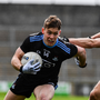 Con OCallaghan of Dublin in action against Killian Clarke of Cavan during the Allianz Football League Division 1 Round 7 match between Cavan and Dublin at Kingspan Breffni in Cavan. Photo by Ray McManus/Sportsfile