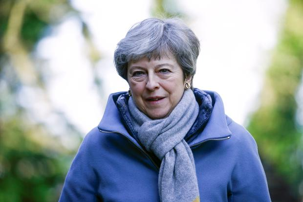 Britain's Prime Minister Theresa May. Photo: Reuters