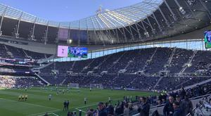 A look inside the new White Hart Lane.