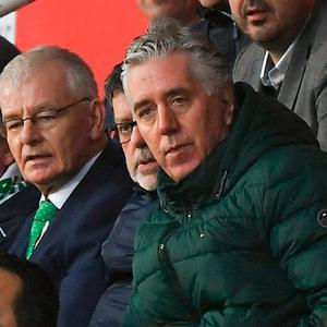Role: Sport Ireland only found out about John Delaney's new job after the Republic of Ireland's win in Gibraltar which he attended. Photo: Seb Daly/Sportsfile