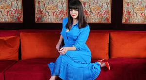 'I don't believe in living in fear - I think it's such a waste,' says Sile Seoige as she lights up the Ruby Room of the Dylan Hotel in Dublin. Photo: David Conachy