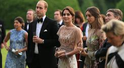 HRH Prince William and Catherine, Duchess of Cambridge attend a gala dinner in support of East Anglia's Children's Hospices' nook appeal at Houghton Hall on June 22, 2016 in King's Lynn, England. (Photo by Stephen Pond/Getty Images)