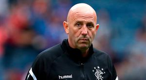 Rangers assistant manager Gary McAllister. Andrew Milligan/PA Wire