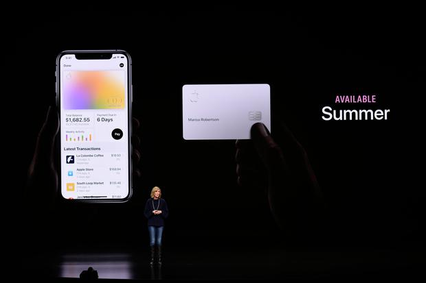 Jennifer Bailey vice president of Apple Pay at an announcement that it would release its own credit card called Apple Card