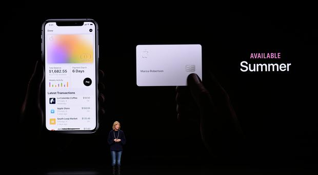 Apple targets banking with launch of new credit card