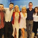 Dancing with the Stars finalists with Ryan Tubridy on RTE Radio 1