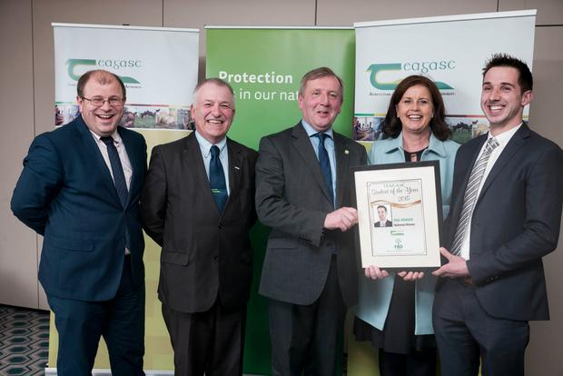 Kilkenny farmer Paul Bowden from Urlingford, Co Kilkenny, was announced as the Teagasc/FBD Insurance Student of the Year for 2018 at a ceremony in Dublin.
