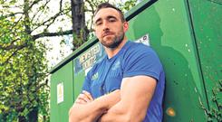 Conan's quest: Jack Conan is likely to be in direct competition against one of his main rivals for a World Cup spot, Jordi Murphy, when Leinster face Ulster. Photo: Sportsfile