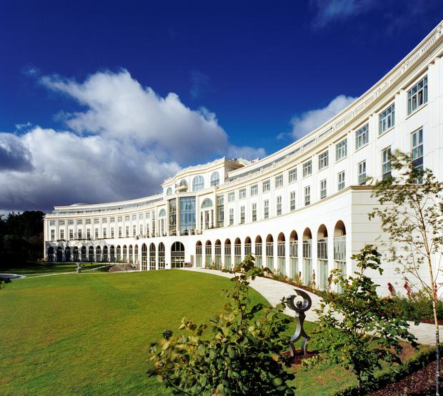 Rooms with a view: The Powerscourt Hotel in Co Wicklow was built for €200m as the Ritz Carlton and opened in 2007