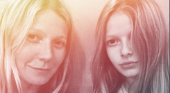 2016: Gwyneth and daughter Apple look like sisters in the Paltrow's Instagram post. Photo: Gwyneth Paltrow/Instagram
