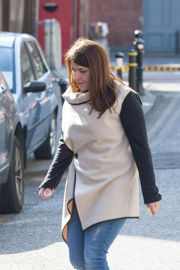 Alice O'Sullivan, mother of the late Leah Troy pictured at Cork Coroners Court.