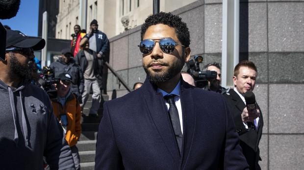 Donald Trump says Jussie Smollett case an 'embarassment to our nation' (Ashlee Rezin/AP)