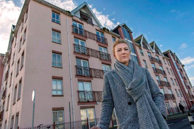 Tenant Aimee O'Riordan (26) was one of many tenants issued with a notice to quit in 2017