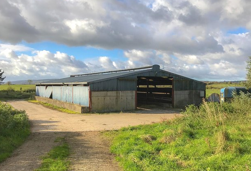 The farmyard comes with a good range of outbuildings, including a six-column double slatted shed capable of housing 100 animals, a silage slab and a haybarn.
