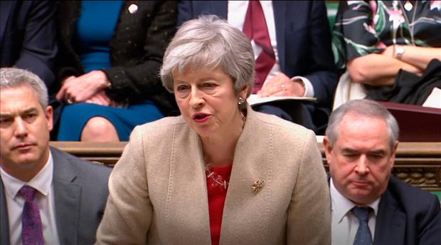 UK Parliament rejects Theresa May's Brexit agreement