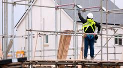 Ireland's construction output is being substantially inflated by State intervention, a report has disclosed. Stock Image: Bloomberg