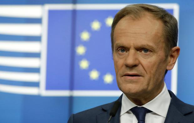 EU's Donald Tusk Suggests 12-Month Extension To Brexit Date