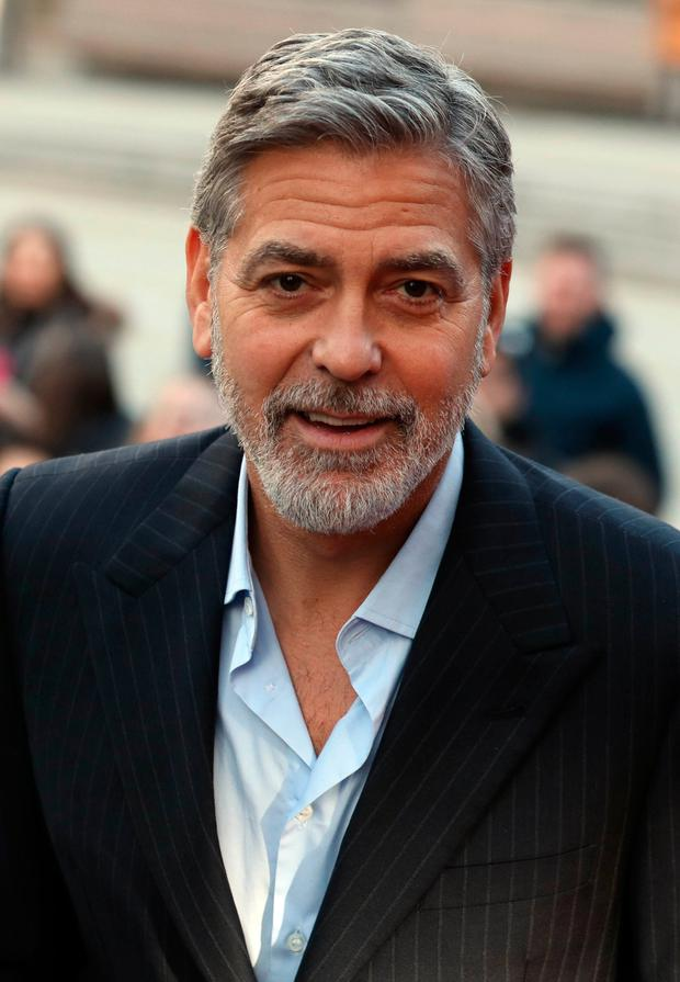 George Clooney, who has called for a boycott of luxury hotels owned by Brunei. Photo: Andrew Milligan/PA