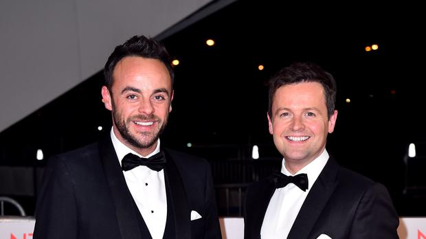 Ant and Dec almost split after McPartlin's drink-drive conviction (Matt Crossick/PA)