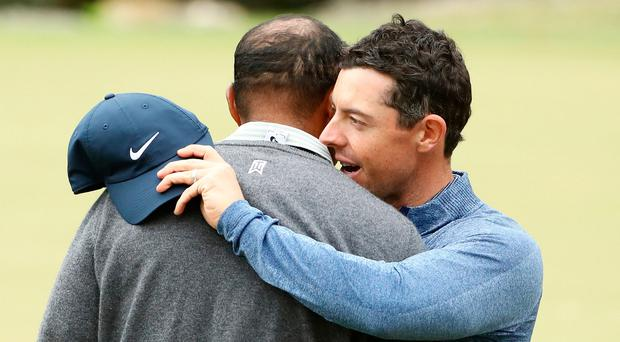Rory to follow in Tiger's footsteps as pairings are announced for opening rounds in Masters