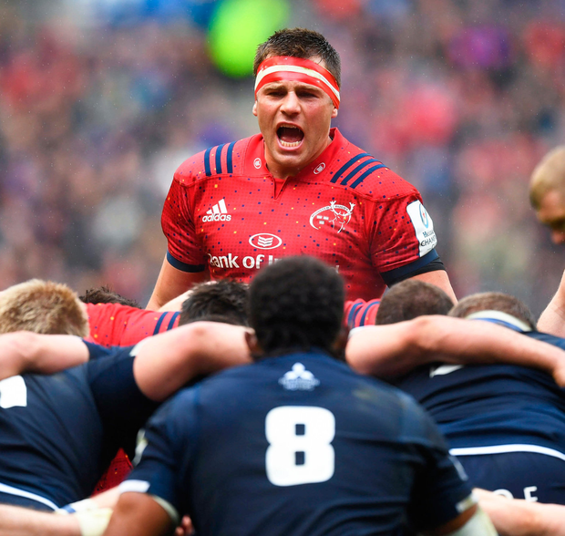 Munster's CJ Stander in action at Murrayfield. Photo: Paul Devlin/Sportsfile