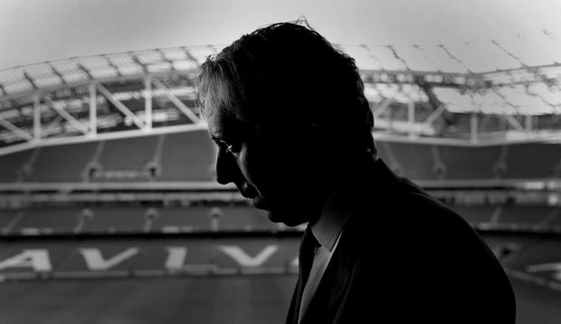 John Delaney in the Aviva stadium. Photo: Gerry Mooney
