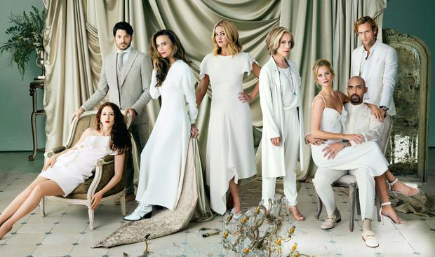 THE LIVING IS EASY: 'Riviera' is returning for a second series