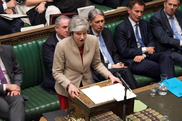 'Asking the people to vote to leave or stay but not telling them the true price of leaving is not an honest, lawful and compulsory mandate for British Prime Minister Theresa May and government to follow up on, regardless of the price.'Photo: ©UK Parliament/MarkDuffy/Handout via Reuters