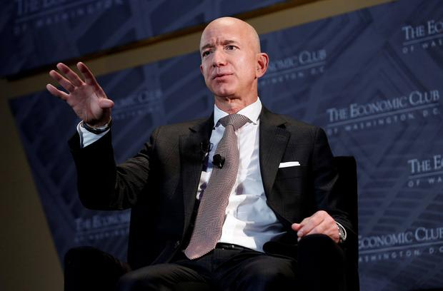 Boss: Jeff Bezos owns the 'Washington Post' and runs Amazon. Photo: Reuters