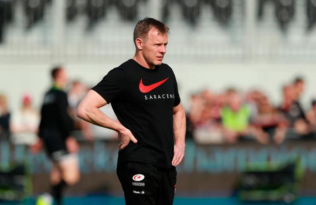 Saracens' director of rugby Mark McCall. Photo: David Rogers/Getty Images