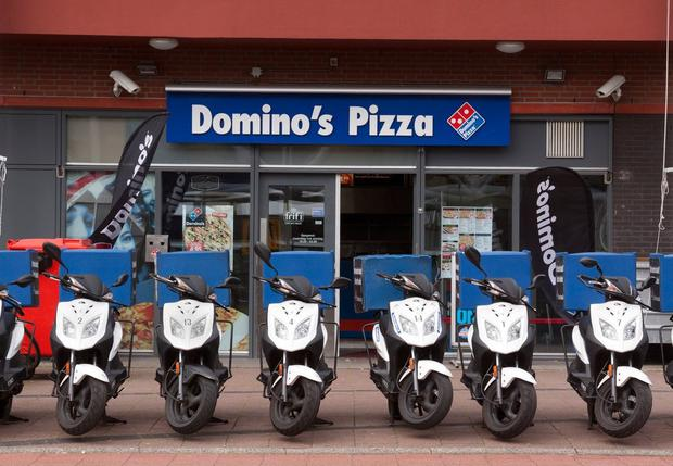 Waiting delivery: Domino's Pizzas and Cheltenham sponsors BetBright has agreed deals