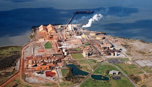 Aughinish: The Limerick plant is the largest alumina refinery in Europe