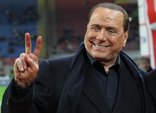 "Ambition: Italy's Silvio Berlusconi wants a ""more united Europe"". Picture: Getty"