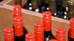 The auction also included more than 275 lots of Domaine de la Romanée-Conti, the most coveted Burgundy wine. Stock photo