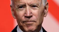 Listening: Joe Biden hasn't yet declared if he will run for president. Photo: Reuters