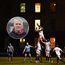 Trinity Director of Rugby Tony Smeeth (inset), while Trinity win a lineout against UCD during the 2018 Colours Game at College Park.