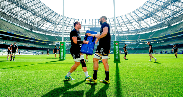Shuffling the pack: Scott Fardy (left) can easily slot in at No 6 allowing Rhys Ruddock to play flanker. Photo: Sportsfile