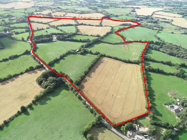 The 212ac residential property at Kilcotty, near Enniscorthy, sold in five lots, making a total of €2.78m