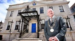 Nial Ring: The Lord Mayor has upped numbers of visitors. Photo: Steve Humphreys
