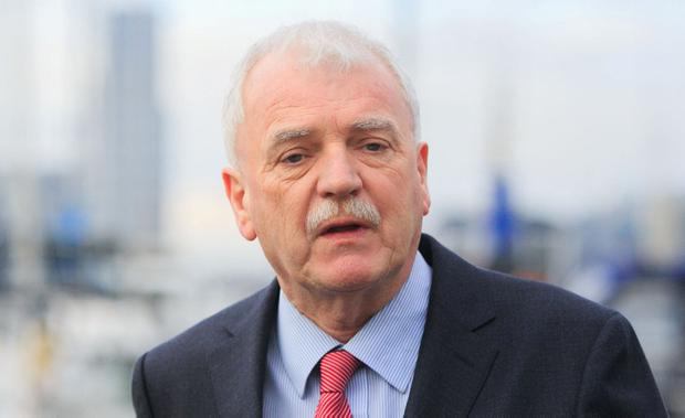 Grovelling apology: Finian McGrath spoke to Cabinet. Photo: Gareth Chaney, Collins