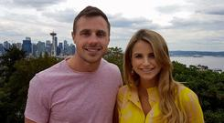 Tommy Bowe and Vogue Williams on Getaways, RTE