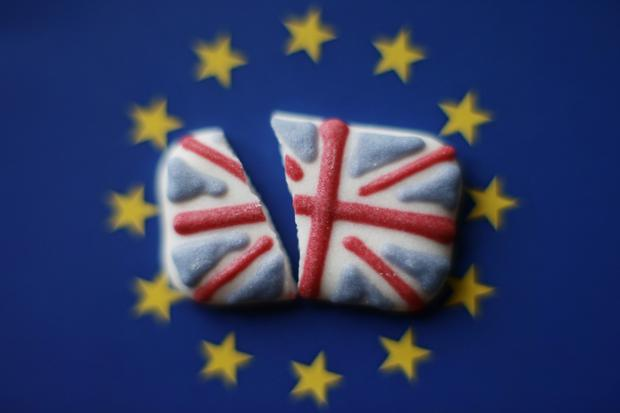 Britain's Brexit turmoil inflicted further damage on the economy last month as the nation's huge services sector shrank for the first time in more than two-and-a-half years. Photo: Yui Mok/PA