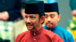 'Fair and happy place': Sultan of Brunei Hassanal Bolkiah. Photo: Getty Images